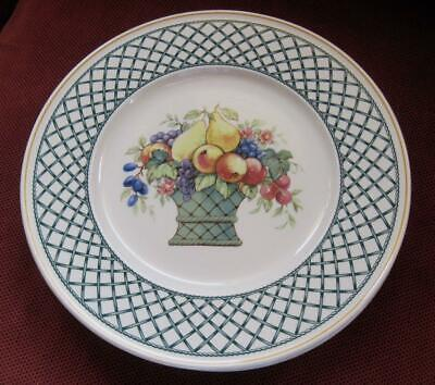 """Villeroy and Boch Basket 10.5"""" Dinner Plate Made in Germany"""