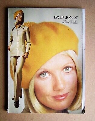 David Jones Sydney Autumn and Winter Mail Order Catalogue 1973