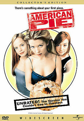 American Pie Unrated Version DVD New Widescreen