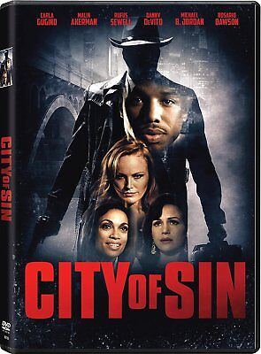 City of Sin DVD Malin Akerman, Kevin Connelly