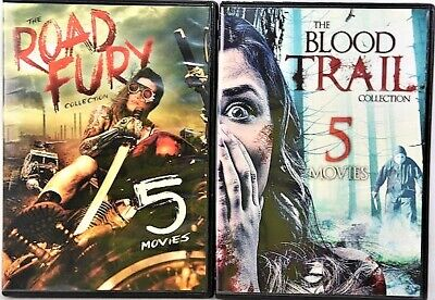 The Blood Trail Collection 5 Movies/Road Fury Collection 5 Movies DVD Bo Svenson