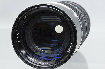 Minolta MD Mount Exel 85-205mm f/3.8 Two-touch Macro Zoom Lens