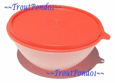 New TUPPERWARE Classic Wonderlier Nesting Mixing Bowl 3 C Small Watermelon Guava