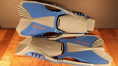 10.5-13.5 Junior Kids Diving Dolphin Fins for Snorkeling Swimming S//M