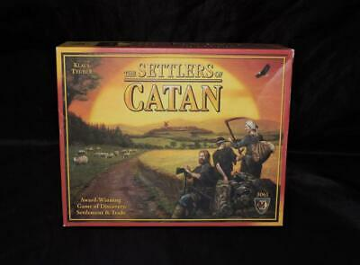 The Settlers of Catan Board Game Klaus Teuber Mayfair 3061 Strategy Discovery