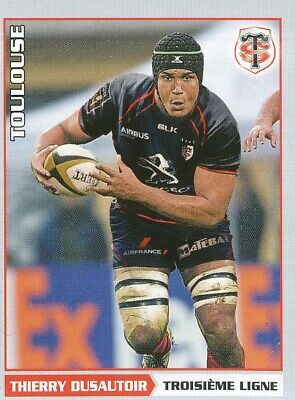 362 Thierry Dusautoir  # Stade Toulousain Top 14 Sticker Panini Rugby 2015