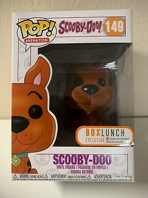 Funko Pop! Scooby Doo Flocked #149 Box Lunch Exclusive (Mint Box)