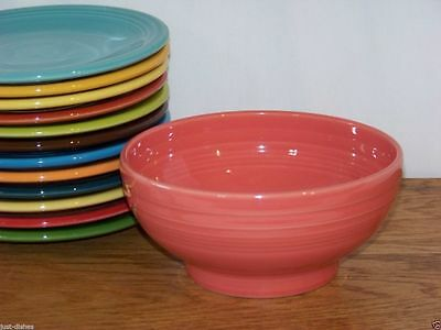 """Fiesta® FLAMINGO Post 86 Large 6"""" Footed (Rice) Bowl - 1st Quality"""