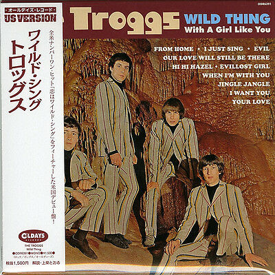 Troggs-Wild Thing-Japan Mini Lp Cd Bonus Track C94