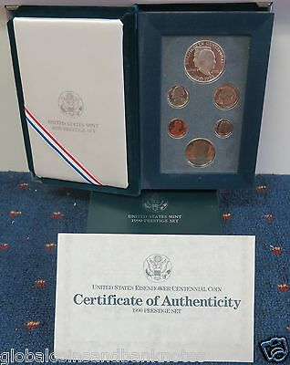 USA - 1990 Prestige Proof Coin Set