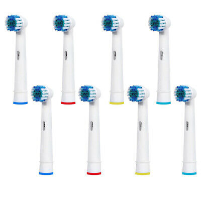 8 Pcs Precision Electric Toothbrush Replacement Brush Heads For Oral B Braun US