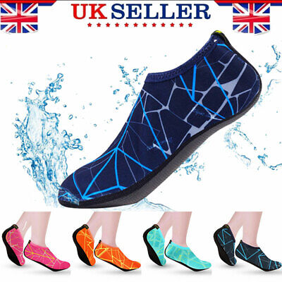 Mens Women Water Skin Shoes Aqua Socks Unisex Beach Swim Surf Dive Yoga Exercise
