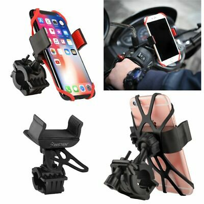 Motorcycle Bike Bicycle Handlebar Mount Holder For Samsung iPhone Cell Phone GPS