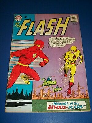 Flash #139 Silver age 1st Reverse Flash Huge Key Solid VG+ Wow