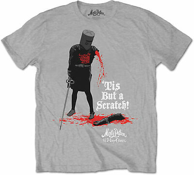 MONTY PYTHON AND THE HOLY GRAIL Tis But A Scratch T-SHIRT OFFICIAL MERCHANDISE