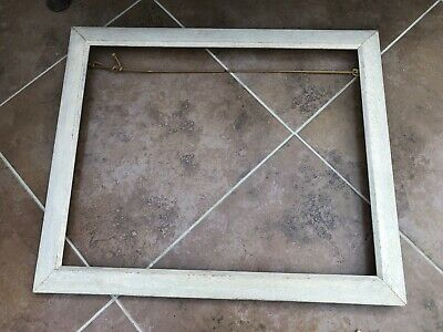 early 1900s quality oak picture frame ( well constructed )