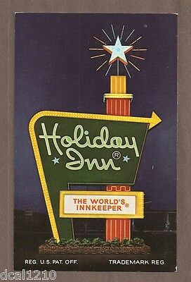 Vintage Postcard Unused Holiday Inn South Hill Va