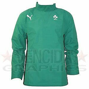 PUMA ireland windbreaker jacket junior 09/10 [green] - Medium Junior