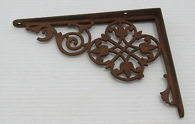 Vintage Cast Iron Shelf Bracket, Hardware, Architectural