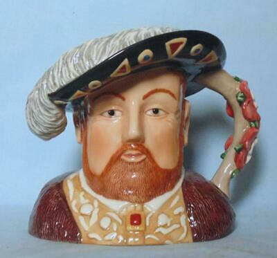 Royal Worcester Large Character Jug King Henry Viii