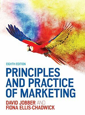 Principles and Practice of Marketing, Jobber 9780077174149 Fast Free Shipping..