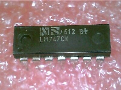 Lm747Cn / Lm747 :  Dual Gp Operational Amplifier