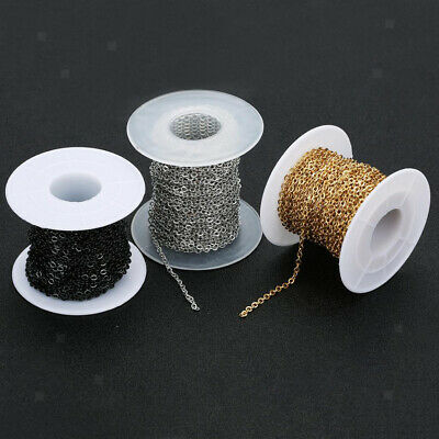 1 Roll Jewelry Making Chains Cable Chains DIY Jewelry Accessories