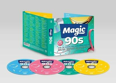 The Magic 90s CD Box Set New Pre Order 29/03/19