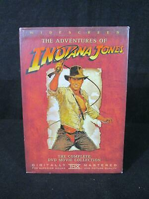 The Adventures of Indiana Jones The Complete DVD Movie Collection (140)