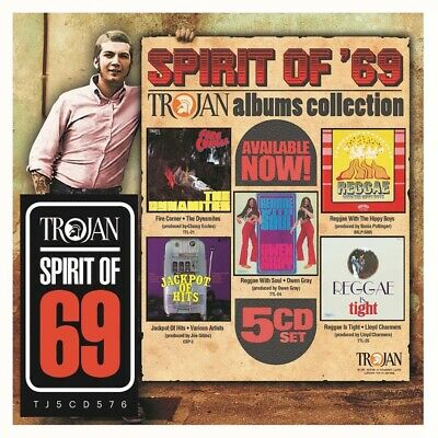 Spirit Of 69 Trojan Albums Collection CD Box Set New Pre Order 29/03/19