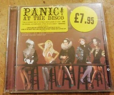 Panic! At the Disco - a fever you can't sweat out (CD 2005)