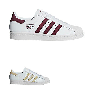 Adidas Superstar 80 Leather  Retro Low-Top Sneakers Mens Trainers