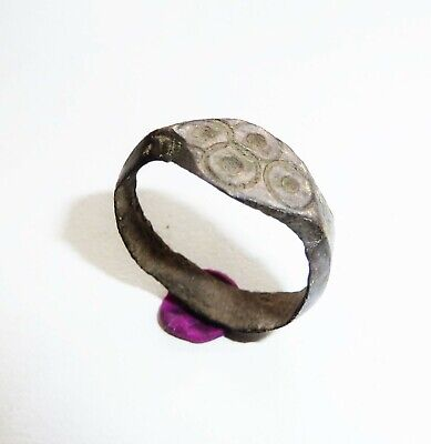 Old bronze ring .