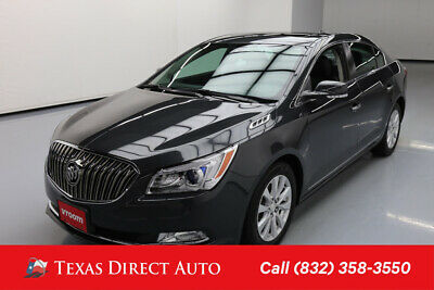 2015 Buick Lacrosse Leather Texas Direct Auto 2015 Leather Used 2.4L I4 16V Automatic FWD Sedan OnStar