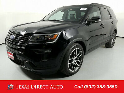 2018 Ford Explorer Sport Texas Direct Auto 2018 Sport Used Turbo 3.5L V6 24V Automatic 4WD SUV Premium