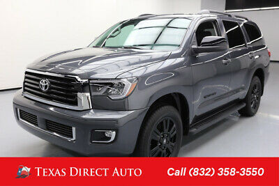 2018 Toyota Sequoia 4x4 TRD Sport 4dr SUV Texas Direct Auto 2018 4x4 TRD Sport 4dr SUV Used 5.7L V8 32V Automatic 4WD SUV