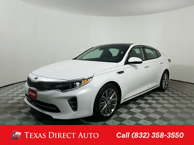 2016 KIA Optima SXL Turbo Texas Direct Auto 2016 SXL Turbo Used Turbo 2L I4 16V Automatic FWD Sedan