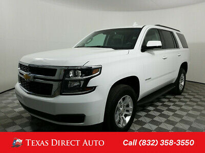 2018 Chevrolet Tahoe LT Texas Direct Auto 2018 LT Used 5.3L V8 16V Automatic 4WD SUV OnStar Bose