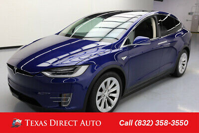 2016 Tesla Model X AWD 75D 4dr SUV Texas Direct Auto 2016 AWD 75D 4dr SUV Used Automatic AWD Premium