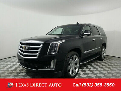 2016 Cadillac Escalade Luxury Collection Texas Direct Auto 2016 Luxury Collection Used 6.2L V8 16V Automatic RWD SUV Bose
