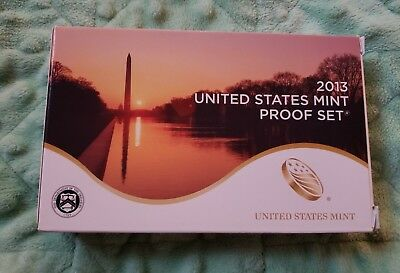 2013 United States Mint Proof Set 14 Coins Complete with Box & COA #4