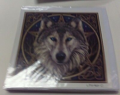 Wild One Wolf Greeting Card By Lisa Parker- Blank Greeting Card