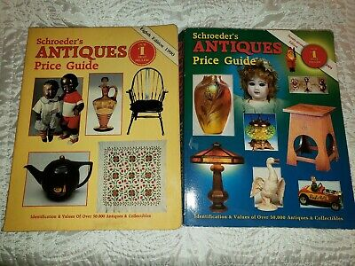 Two Schroders antiques price guides 8th & 22nd Editions #1 best Sellers A04