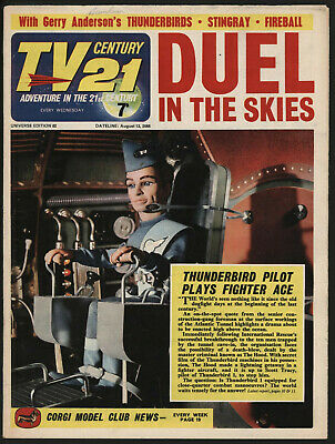 Tv Century 21 #82 Stingray/The Daleks/Fireball Xl5. Great Copy