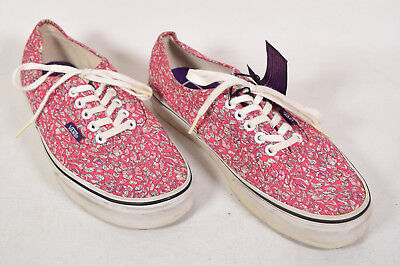 c1c0918450 Vans Liberty Leaves Floral Shoes sneakers Pink Womens 9 Mens 7.5 Unisex
