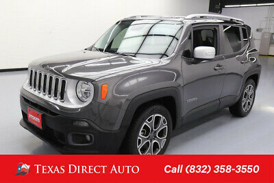 2017 Jeep Renegade Limited Texas Direct Auto 2017 Limited Used 2.4L I4 16V Automatic FWD SUV