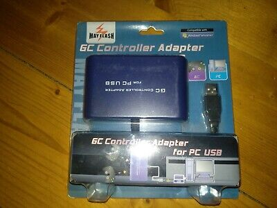 Mayflash 2-Port GameCube GC Controller Adapter for PC USB and controller GC