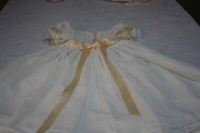 Christening Gown 2T Girls, 3 Piece Girls Outfit 2T, Christening Gown 3 Piece Set