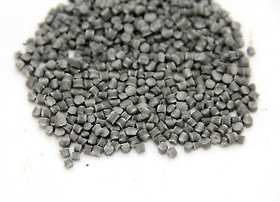 12 lb Gray hard Plastic Pellets  sinking rock tumbler Koi bio filter Cat genie