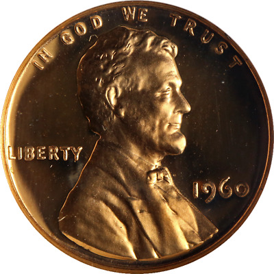 1960 Lincoln Cent Large/Small Date Doubled Die Obverse FS-025 Proof NGC PF66RD